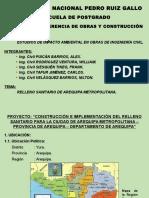Relleno Sanitario de Arequipa - Final