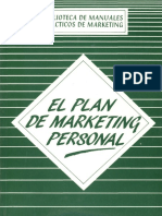 El Plan de Marketing Personal– Claudio Soriano