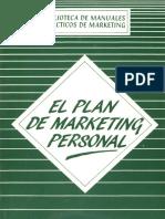 El Plan de Marketing Personal– Claudio Soriano