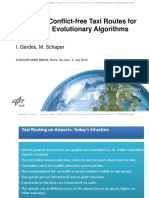 20130702 EURO2013 Creation of Conflict-free Taxi Routes for Aircraft With Evolutionary Algorithms