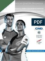 Diseno y Evaluacion de Proyectos Capitulo 4 Cnd Gestion Deportiva