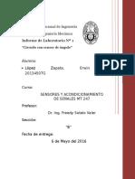 Sensores y Acondicionamiento de Señales UNI FIM 1er informe