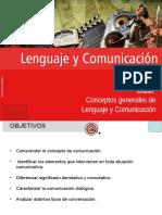 Clase 2 Conceptos Generales de Lenguaje y Comunicación