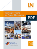 Training Systems for Power Electronics Flyer
