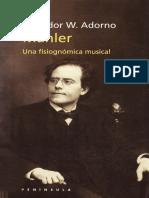 Adorno, t. - Mahler
