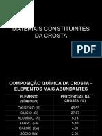 MATERIAIS CONSTITUINTES DA CROSTA.ppt