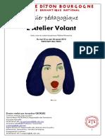 NOVARINA, V. - Dossier Pedago. -  Atelier Volant