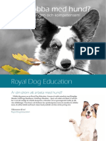 Royal Dog Education Utbildningskatalog WEB