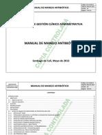 Manual de Manejo de Antibióticos