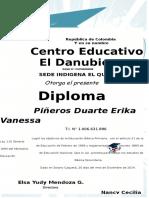 Diploma Quinto