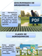Uso Indiscriminado de Agroquimicos