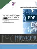 VIOLENCIA FILIO-PARENTAL O MALTRATO DE HIJOS A PADRES
