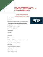 El Acto Administrativo costa rica (CR)
