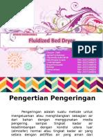 Fluidized Bed Dryer