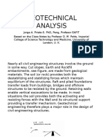 Geotechnical Analysis