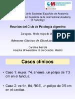 Adenoma Gástrico - 2011 - Patología - Revisión