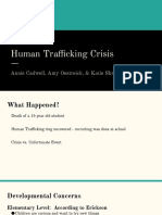 human trafficking crisis ppt