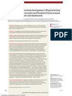 Association Between Early Participation in Physical Activity Following Acute Concussion and Persistent Postconcussive Symptoms in Children and Adolescents