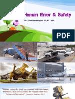 P4 Ergo Human Error and Safety