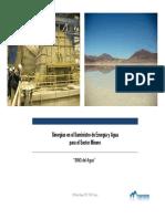Sinergias en El Suministro de Energía y Agua Para El Sector Minero