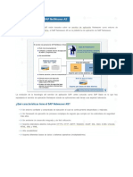 Arquitectura Del SAP Netweaver As