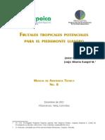 Frutales Tropicales Potenciales Para El Piedemonte Llanero