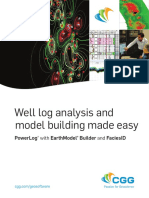 3025 GeoSoftware PowerLog Well Log Analysis Brochure