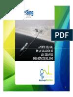 Aporte Del GNL en La Solución de Los Desafíos Energéticos Del SING