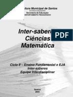 Apostila Inter Saberes Ciências e Matemática