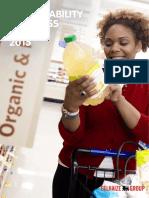 Delhaize Sustainability Progress Report 2015
