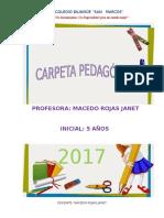 CARPETA PEDAGOGICA 5 AÑOS JANET MIRIAM 2016.docx