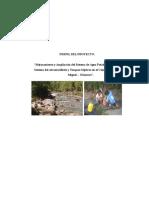 Proyecto de Agua - San Miguel