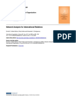 Network Analysis for International Relations