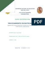 Procesamiento en Biotecnologia
