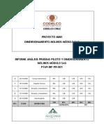 a15) Análisis Pruebas Piloto y Dimensionamiento Molinos Sag