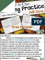 FREEReadingComprehensionPracticeFourinOneUpperElementary.pdf
