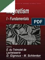 Magnetism Fundamentals