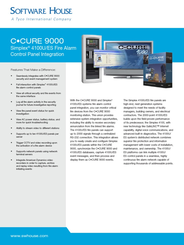 Ccure-9000-Simplex-4100u-Es Ds r02 Lt en (1)   Microsoft Windows