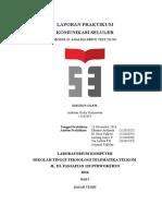 Laporan Praktikum Komsel Modul 2 Andrean Dicky Kurniawan