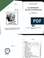 Beuchot, Mauricio - El Problema de los universales.pdf