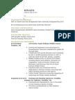 donato - resume and cv