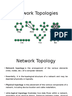 Network Topologies by Dr. Sheshpal Namdeo
