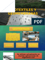 Geotextiles y Geomembranas