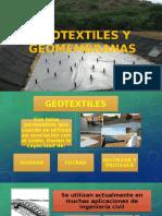 Geotextiles y Geomembranas
