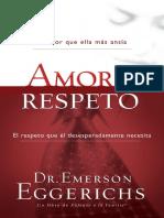 Amor y Respeto-Emerson Eggerichs