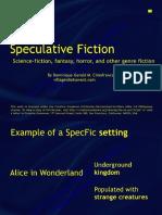 Speculative Fiction 2010 Dominique Cimafranca