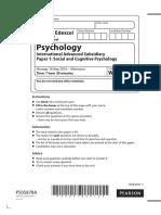 WPS01 Psychology Unit 1