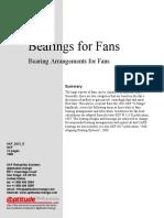 Bearings for Fans