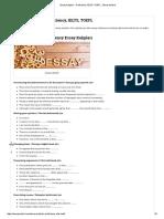Essay Kalıpları - Proficiency, IELTS, ToEFL - Essay Kontrol