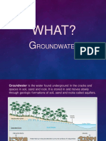 Groundwater basic note- introduction to groundwater
